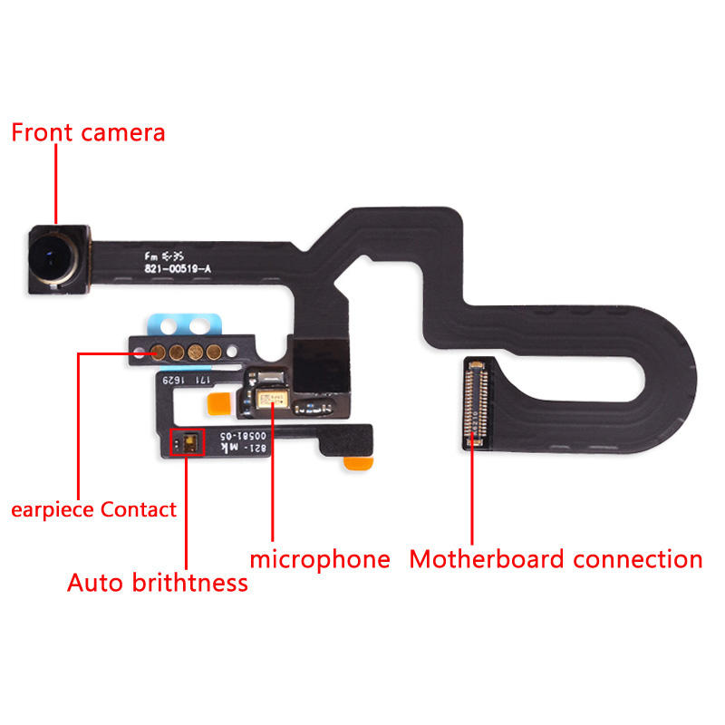 "Proximity Sensor For iPhone 7G 8G 4.7"" & 7 8plus 5.5"" Front Flex Cable Facing Camera Assembly"