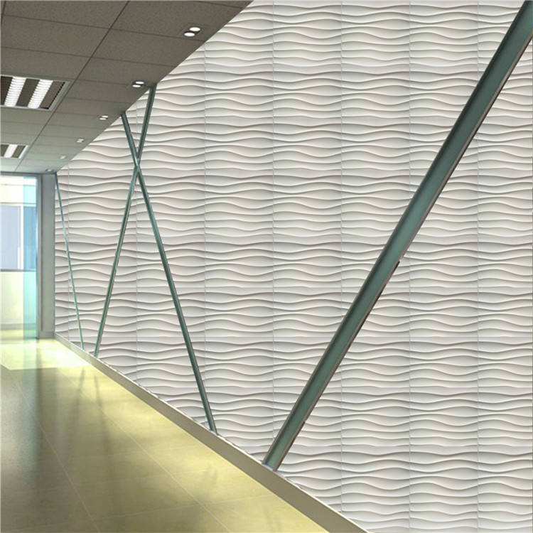New Design 3D Plastic Ceiling pvc wall Panel price wall ceiling