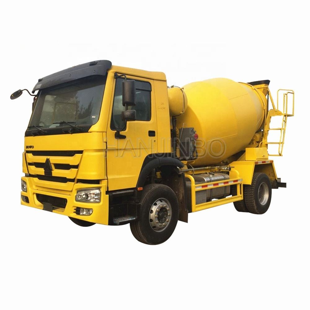 Howo 4x2 Mini Concrete Mixer Truck For Sale