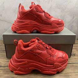 Custom design fashionable ins women triples dad sneakers casual six layers sole balanciaga shoes drop shipping