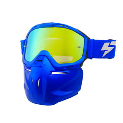 HC Protection TPU Frame and Polycarbonate Lenses Material Mask MX Goggles