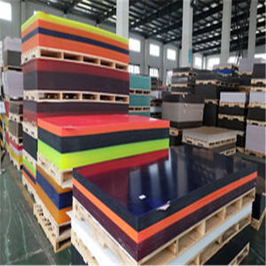 XinTao Wholesale Cast Solid Colored Acrylic Sheets Free Samples 100% Virgin MMA Lucite Material Perspex Customized Size Board
