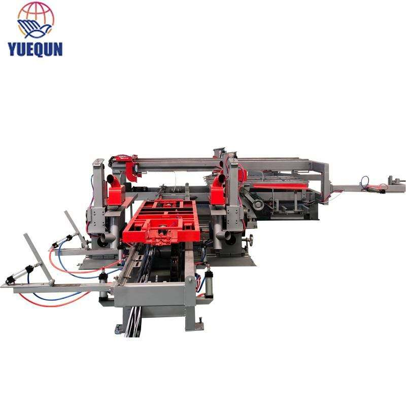 Plywood Production Line [ Cutting Machine ] Plywood Saw Cutting Machine Plywood Production Line/plywood Double Size Cutting Saw/edge Trimming Machine