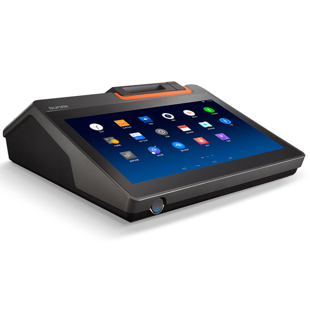 Sunmi T2 Mini 11.6 Inci Layar Sentuh Kasir Point Of Sales Android POS Printer POS Sistem Pos Bank
