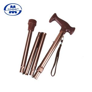 Light weight aluminum folding walking cane with high quality
