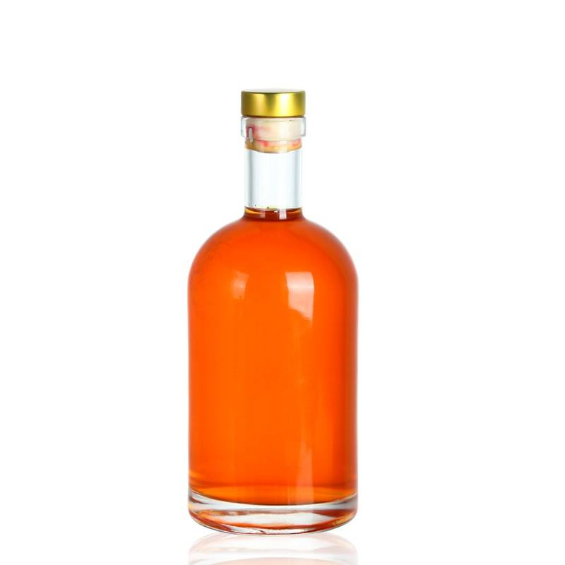 hot sell transparent glass bottle for liquor 750 ml suppliers