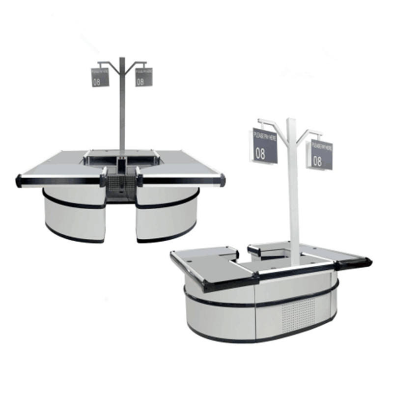 Factory price modern design high quality checkout cash counter