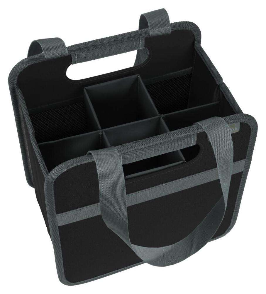 Porte-vin portable pliable, 6 emplacements, sac de transport du vin
