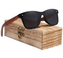 personalize anti scratch sunglasses bamboo wood arm kingseven sunglasses