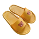 Couple Sandals 2020 Ins Cartoon Bear Slipper For Couple Bathroom Bedroom Indoor Pvc Slippers Women's Slippers Ladies Slides Sandals 4 Season
