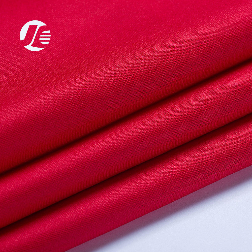 new product rayon polyester stretch fabric knitted textile fabric