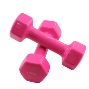 Bodybuilding Gym Dumbbell For Sale 0.5kg 2kg 5kg 10kg Vinyl Coated Dumbbell