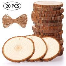 Home Deco Natural Wood Slices Craft Wood Kit Christmas Ornaments DIY Crafts
