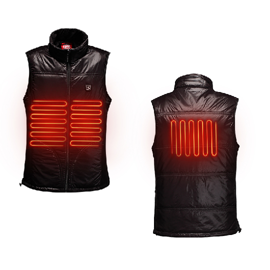 Custom Heated Jacket Man & Women Heated Clothing with Rechargeable Li Battery Warm Jackets