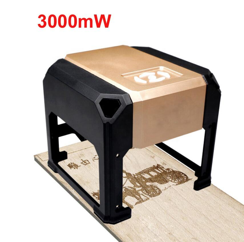 Mini USB Laser Engraver Machine Carver Automatic DIY Print Carving Machine Off-line