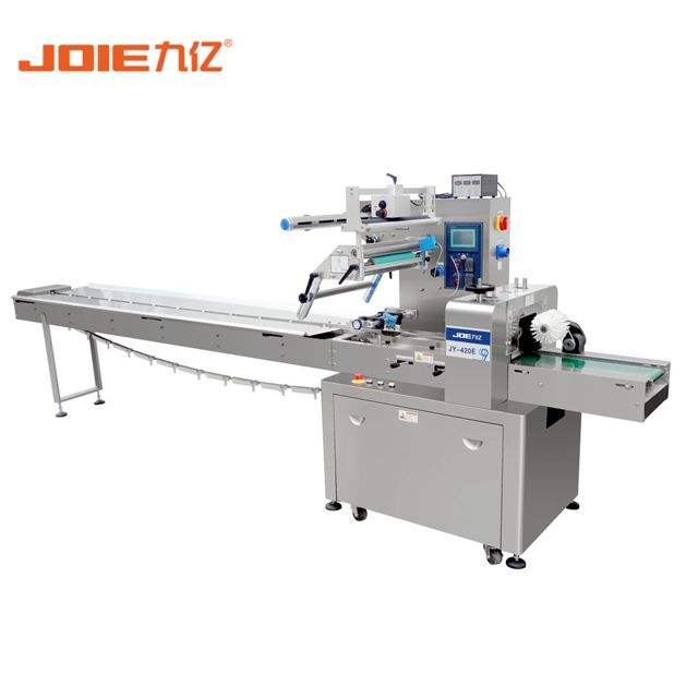 Manufacturer supply automatic soap flow wrapping machinery with data printer