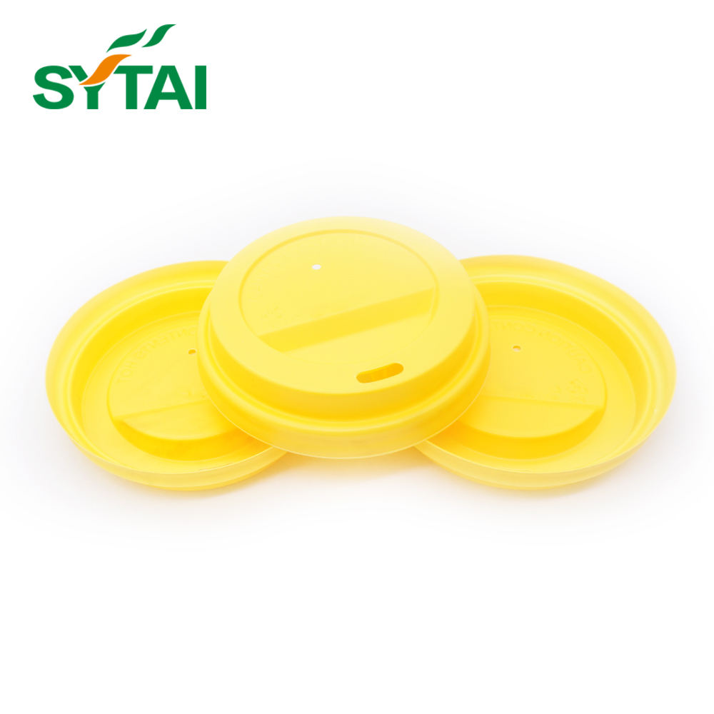 Disposable custom colorful plastic lid