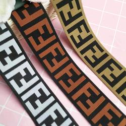 China factory New design jacquard elastic webbing rubber tape for clothing underwear