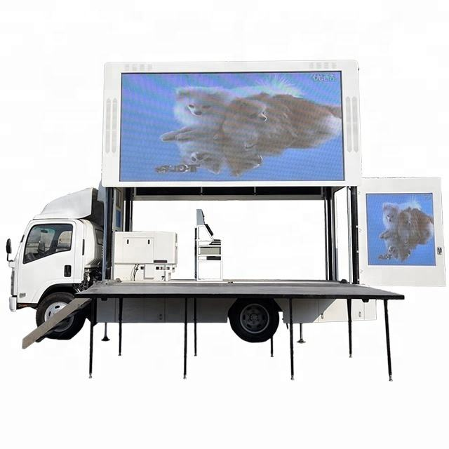 Shenzhen outdoor mobile truck Large Advertising LED Display Screens/Custom Ads Screens LED Video Wall Panel
