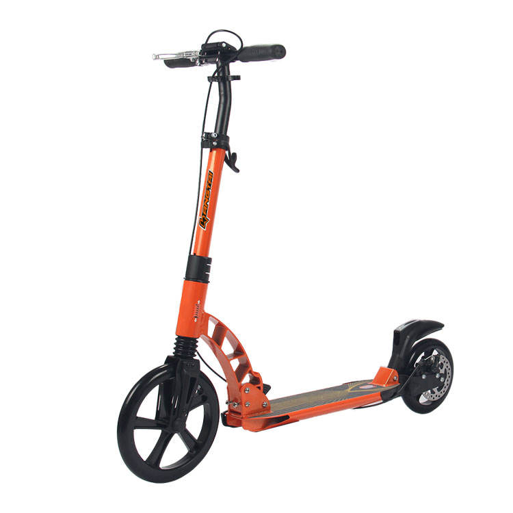 2 Wheel Kick Scooter For Adults Folding Scooter With Handle Brake