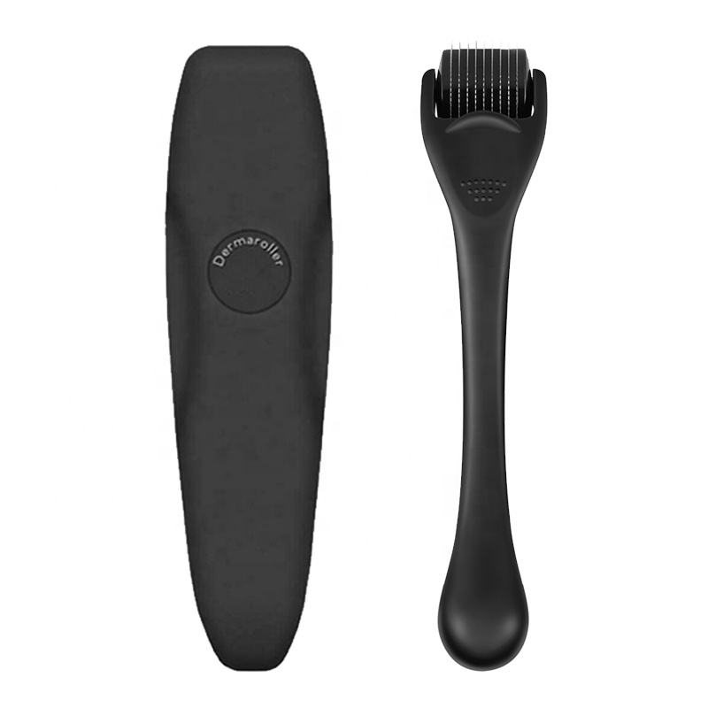 Micro Needle Beard Roller Titanium Dermaroller Private Label Derma Roller 540 Beard Hair Growth Derma Beard Roller