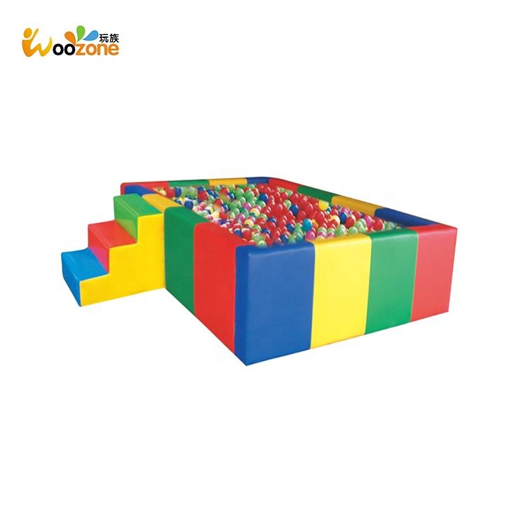 Manufacturer customized commercial soft play ball pool pits structures