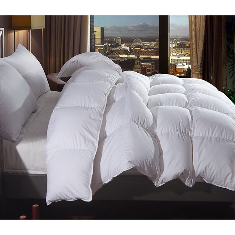wholesale hotel white duck down quilt comforter home bed duvet