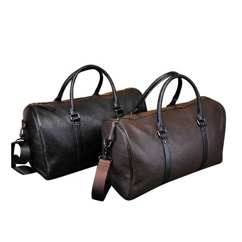 Tailored European Hot Selling Men'S popular Travel Bag Mainstream Business Elite Leather Travel Bag