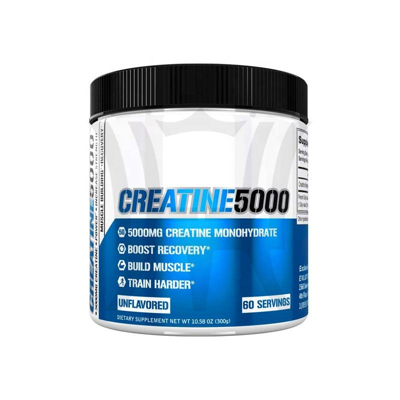 Sports Nutrition Pre Workout Products Private Label Ultra-Pure 100% Creatine Monohydrate Powder Protein Contains OEM ODM Support