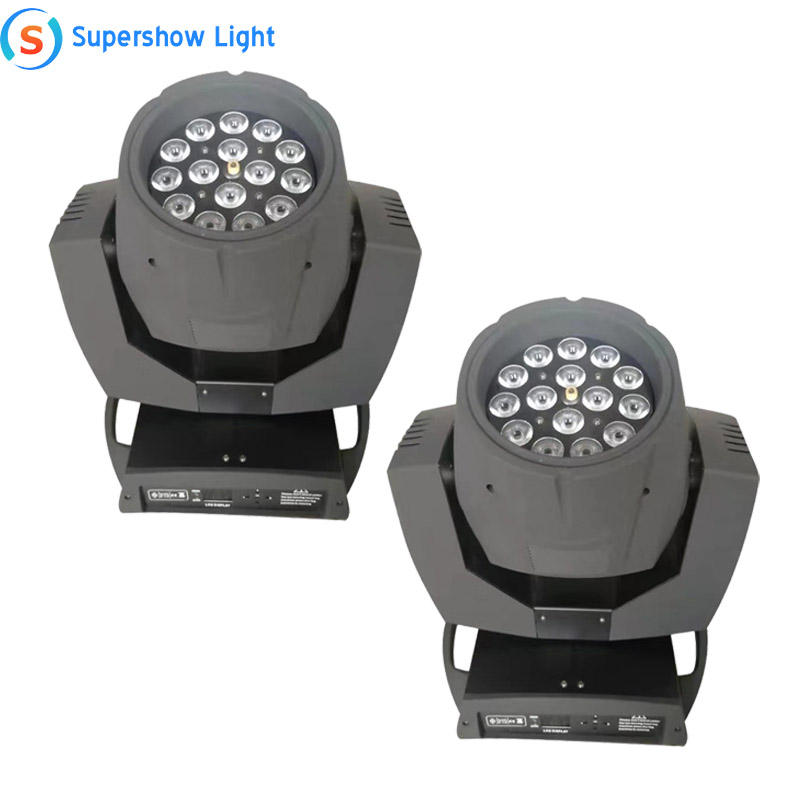2pcs Einzigartige Design 15pcs 10W RGBW 4In1 LED Moving Head Nebel Maschine Sharpy Strahl 200 Fall Bunte rauch Spray LED Moving Fogger