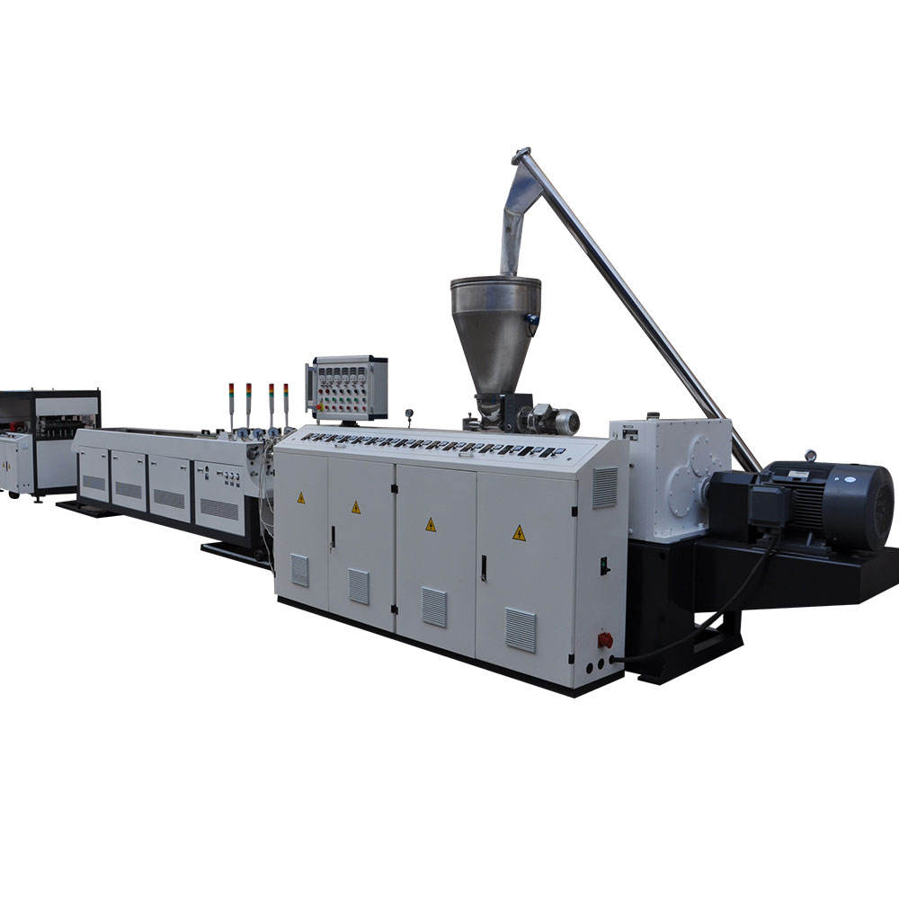 PVC one out four pipe production line / 4 cavities mould making machine