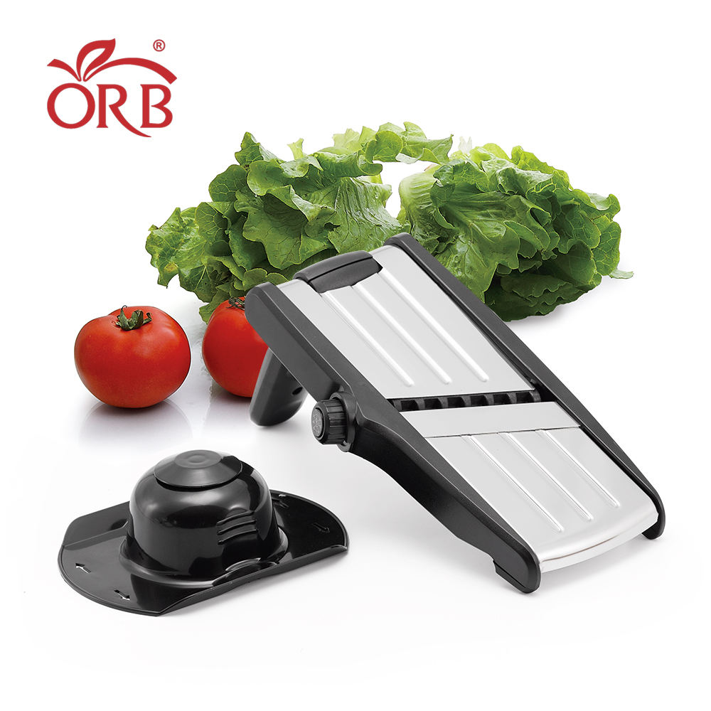 Home Kitchen Mandoline Slicer Mandolin Fruit Vegetable Slicer Fruit Vegetable Adjustable Stainless Steel Blades Mandoline Slicer