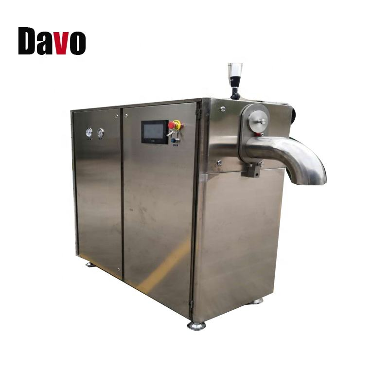Professional 3 MM And 16 MM Dry Ice Freezer Dry Ice Pelleting Making Machine