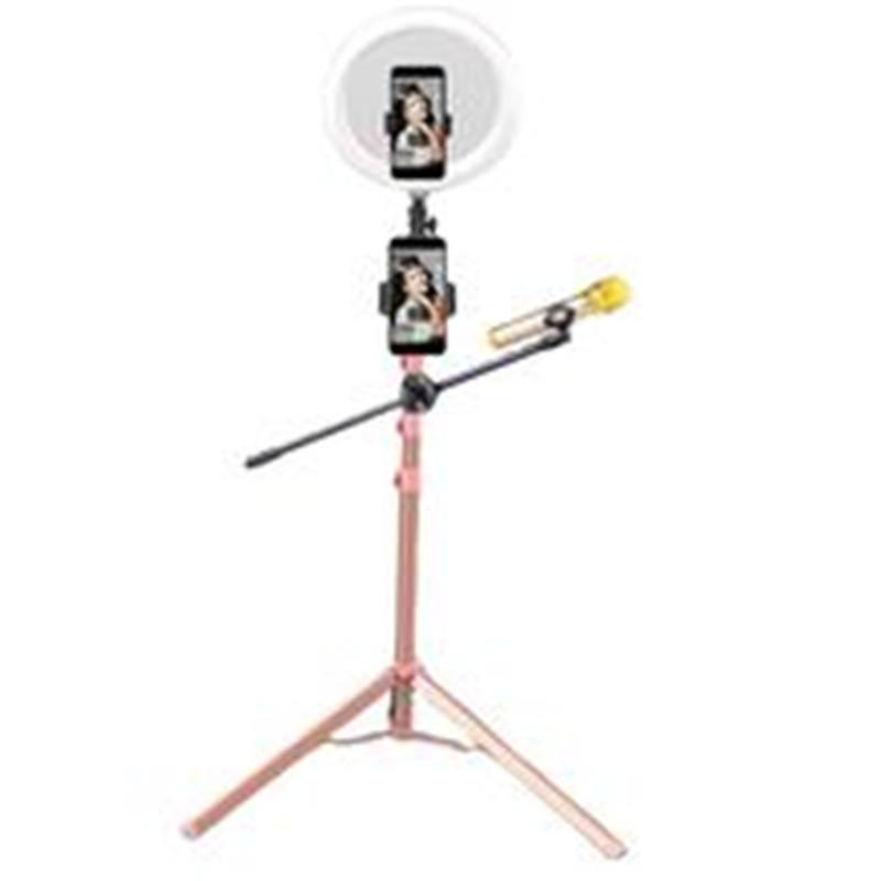 Professional 12inch led ring light tripod stand for photography camera studio
