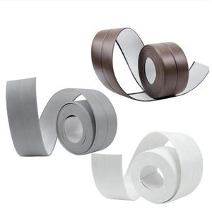 Bathroom Waterproof Tape Shower Sink Bath Sealing Strip Tape White PVC Self Adhesive Wall sticker for Bathroom Kitchen