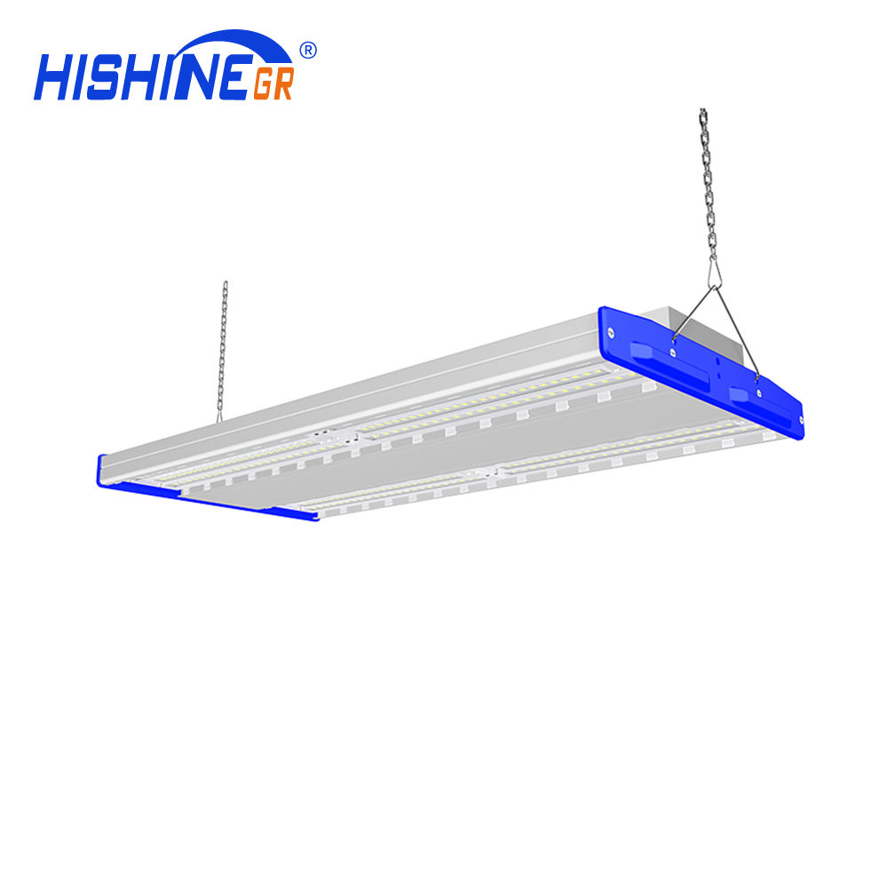 Warehouse 200W Led Linear High Bay Lights 250w Microwave sensor led high bay lamp