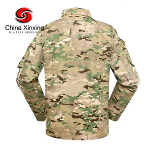 China Xinxing multicam militär uniform armee kampf uniform tarnung uniform für soldat YL001