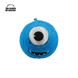 Branded 12 inches inflatable PVC bladder plush toys emoji balls without stuffing kids love for park - Blue Monster