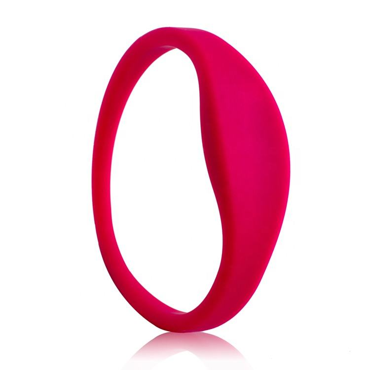 Top Quality LF RFID Rubber Silicon Wristband/ bracelets