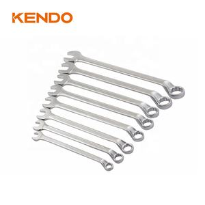 KENDO 8pc Deep Offset Combination Spanner Set Metric Combination Wrench Set