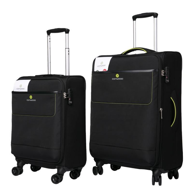 LUGGAGE BAGS RPET SUITCASE TROLLEY CASE TRAVELLING BAG LUGGAGE SET CONWOOD CARRY-ON LUGGAGE LEISURE TRAVEL