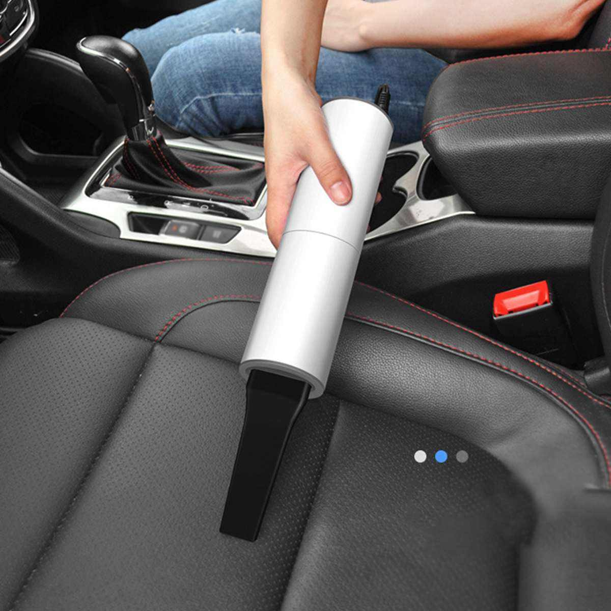 Car Vacuum Cleaner Portable Wired Handheld 120W Auto Vacuum Cleaner 12V Mini Car Vaccum CleanersためCar Interior Cleaning