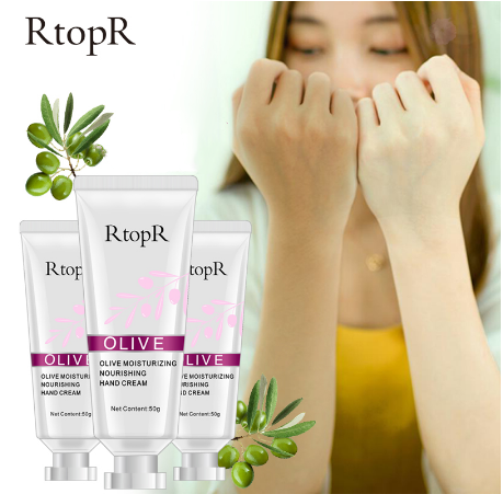 Nousishing Repair Anti Aging Whitening Hand Rtopr OLIVE Serum ครีม