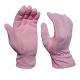 pink polyester cotton glove anti slip for driving band outdoor sports