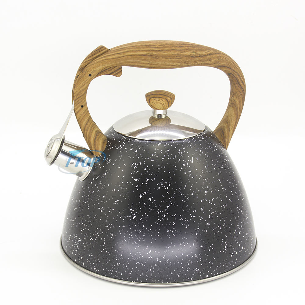 Kitchenware new style tea pot stainless steel coffee kettle set