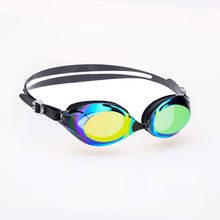 ZLF Adult Swimming Sport Goggles Silicone Eyecup PC Anti-fog Lens Custom Logo and Color Fashion Glasses in Swimming Sport