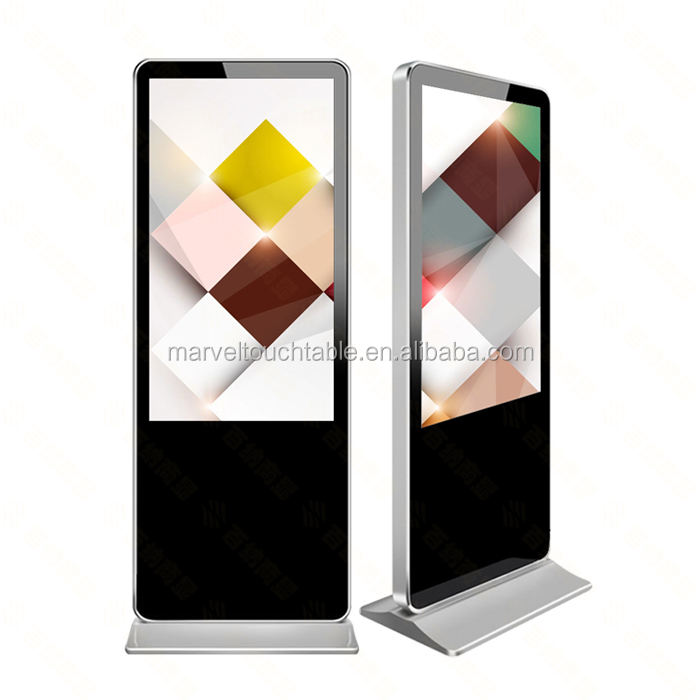 Smart touch verticale HD TFT verticale <span class=keywords><strong>lcd</strong></span> touch screen monitor <span class=keywords><strong>lcd</strong></span> supporto da pavimento