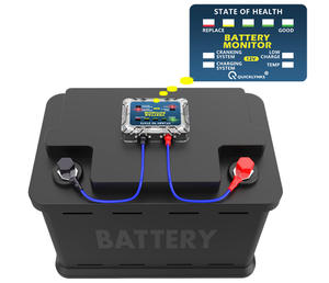 12v Bm5 Battery Tester Volt & Amp Lead Acid Battery Tester Monitor Bm5 Analisador Verificador Da Bateria de Carro de Carga Do Sensor