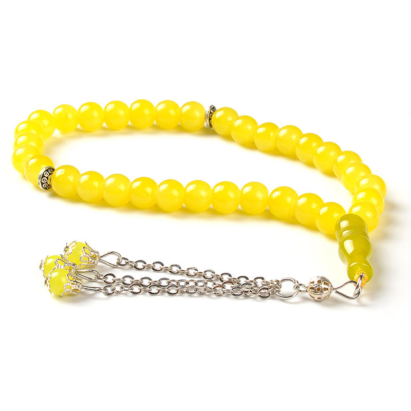 YS141 Cheap wholesale islamic muslim rosary crystal tasbih 33 prayer beads