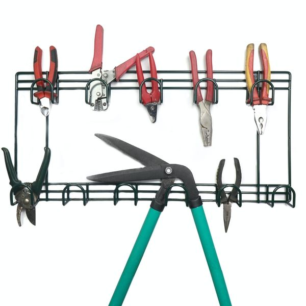 Factory direct Multi-function Garden Wall Holders Hooks for Tools Storage Rack